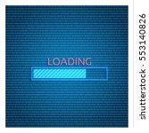 loading bar icon | Shutterstock .eps vector #553140826