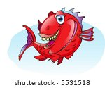 red snapper fish | Shutterstock .eps vector #5531518