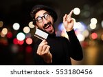 young french artist with credit ... | Shutterstock . vector #553180456