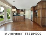 kitchen in suburban home with...   Shutterstock . vector #553184002
