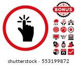 click icon with bonus design...