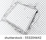 grunge transparent background . ...   Shutterstock .eps vector #553204642