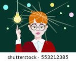 vector illustration of a boy...   Shutterstock .eps vector #553212385