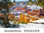 bryce canyon | Shutterstock . vector #553221355