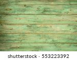 Green Wooden Background