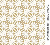 seamless pattern with elegant... | Shutterstock .eps vector #553249642
