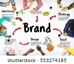 brand marketing strategy... | Shutterstock . vector #553274185