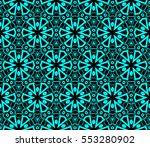 modern geometric seamless... | Shutterstock .eps vector #553280902