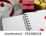valentines day background.... | Shutterstock . vector #553288318
