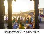 kanyakumari  india   february... | Shutterstock . vector #553297075