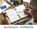 canceled rejected abort... | Shutterstock . vector #553302226
