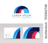Abstract Circular Arc Logo Ico...