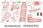 italy | Shutterstock .eps vector #553302952