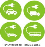 various types of electric... | Shutterstock .eps vector #553331068