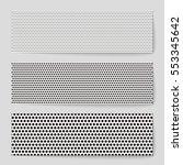 abstract creative concept... | Shutterstock .eps vector #553345642