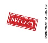 reflect stamps | Shutterstock .eps vector #553382512