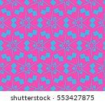 modern geometric seamless... | Shutterstock .eps vector #553427875