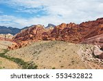 hot afternoon at red rock... | Shutterstock . vector #553432822