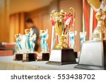 golden trophy | Shutterstock . vector #553438702