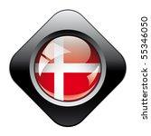 denmark shiny button flag with... | Shutterstock .eps vector #55346050