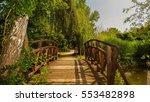 sofia bulgaria bridge in park... | Shutterstock . vector #553482898