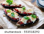Aubergines Stuffed With...