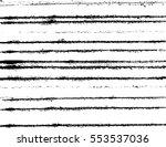grunge paint stripe . vector... | Shutterstock .eps vector #553537036