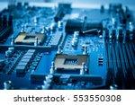 computer technology hardware... | Shutterstock . vector #553550308