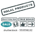 halal products rubber seal... | Shutterstock .eps vector #553558132