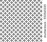 monochrome floral pattern ...