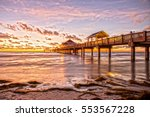 Sunset At Clearwater Beach Pier ...
