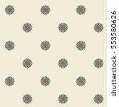 abstract seamless vector... | Shutterstock .eps vector #553580626