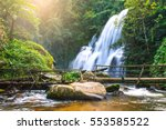 Pha Dok Siew Waterfall In Deep...