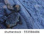 Artistic Beach. Pebbles ...