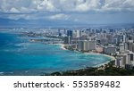 Small photo of Waikiki Beach Diamond Head View
