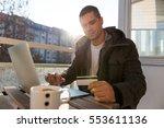 internet banking | Shutterstock . vector #553611136