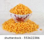 rice puff   fryums snack in... | Shutterstock . vector #553622386