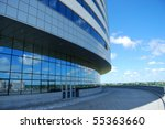 input in modern office building | Shutterstock . vector #55363660