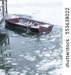 Small Fishing Boat Trapped In...