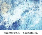 artistic splashes of bright... | Shutterstock . vector #553638826