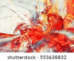 abstract red motion composition.... | Shutterstock . vector #553638832