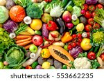 Assortment Of  Fresh Fruits An...