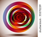 colorful circles | Shutterstock .eps vector #55370239