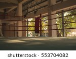 old boxing ring | Shutterstock . vector #553704082