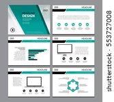 multipurpose template for... | Shutterstock .eps vector #553727008