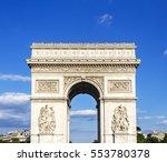 arc de triomphe   paris   france | Shutterstock . vector #553780378
