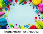 birthday party background   Shutterstock . vector #553789042