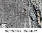 Limestone Rock Face