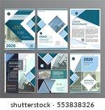 business template for brochure  ...   Shutterstock .eps vector #553838326