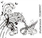 spring melody | Shutterstock .eps vector #55389997